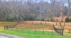 5ft Black Chain Link Fence