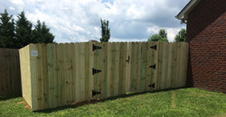 6ft Dog Ear Style Fence