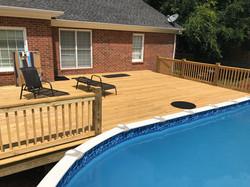 Custom Pool Deck