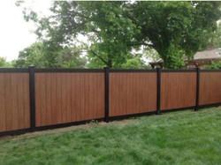 6' Vinyl Fence
