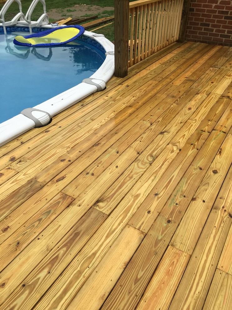 Custom Pool Deck