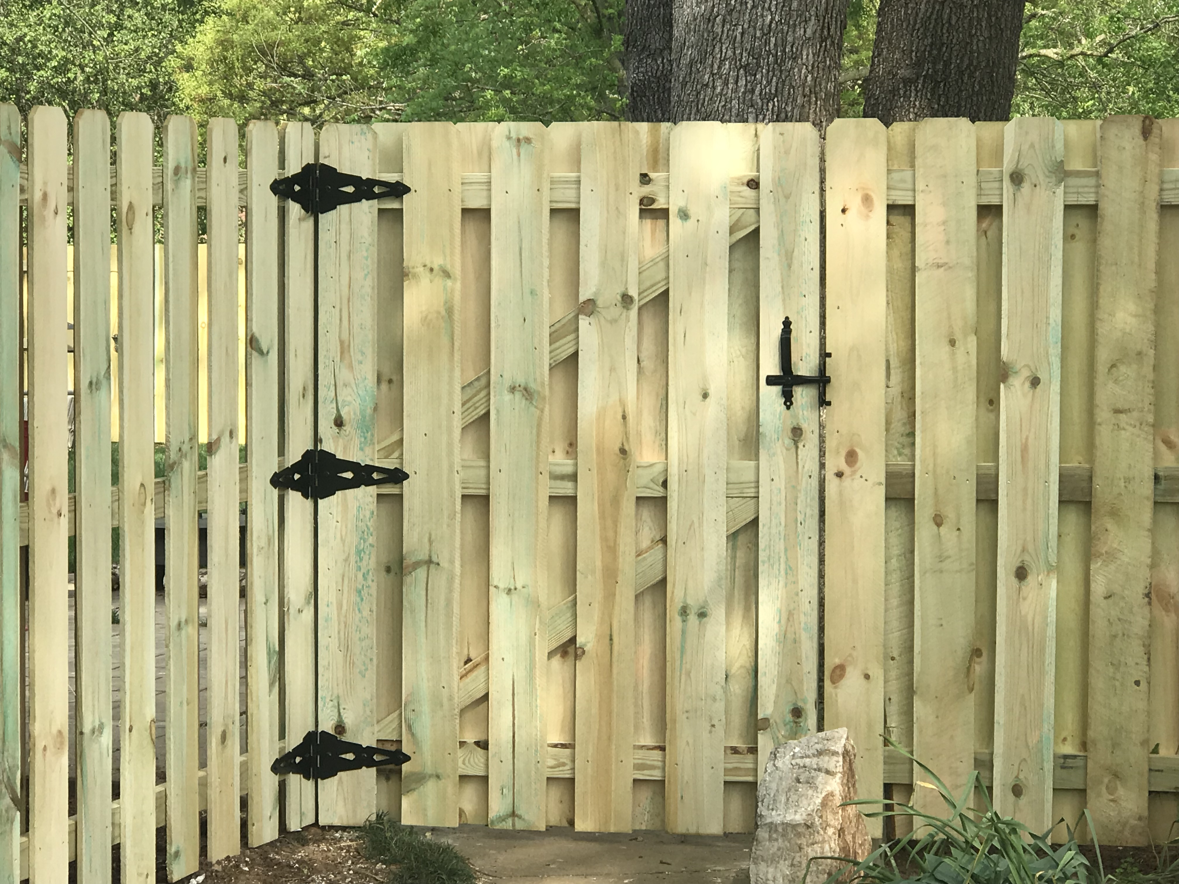 6ft Fence Dog Ear Shadow Box Style