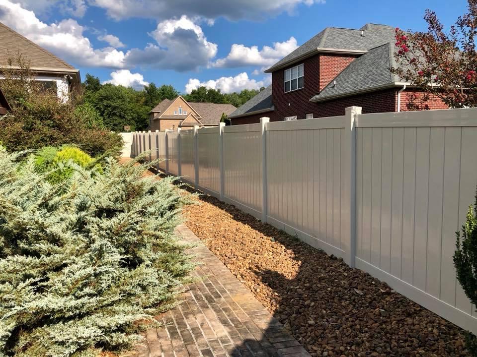 6ft Vinyl Fence