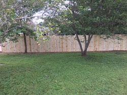 6ft Dog Ear Privacy Fence