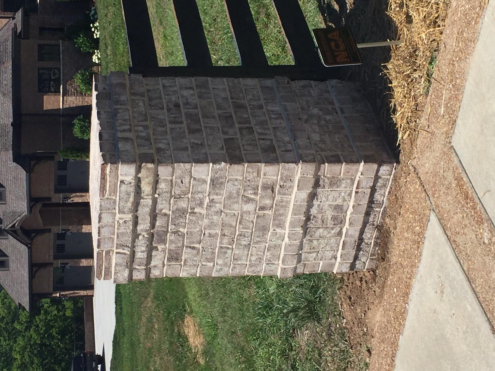 Driveway Column