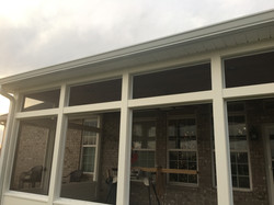 New Soffit and Gutter / Downspouts