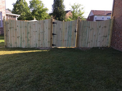 6' Scallop Style Fence