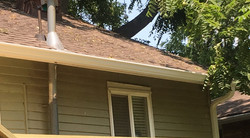 New Gutters and Downspouts