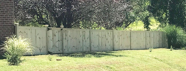 4ft Cap & Trim Fence