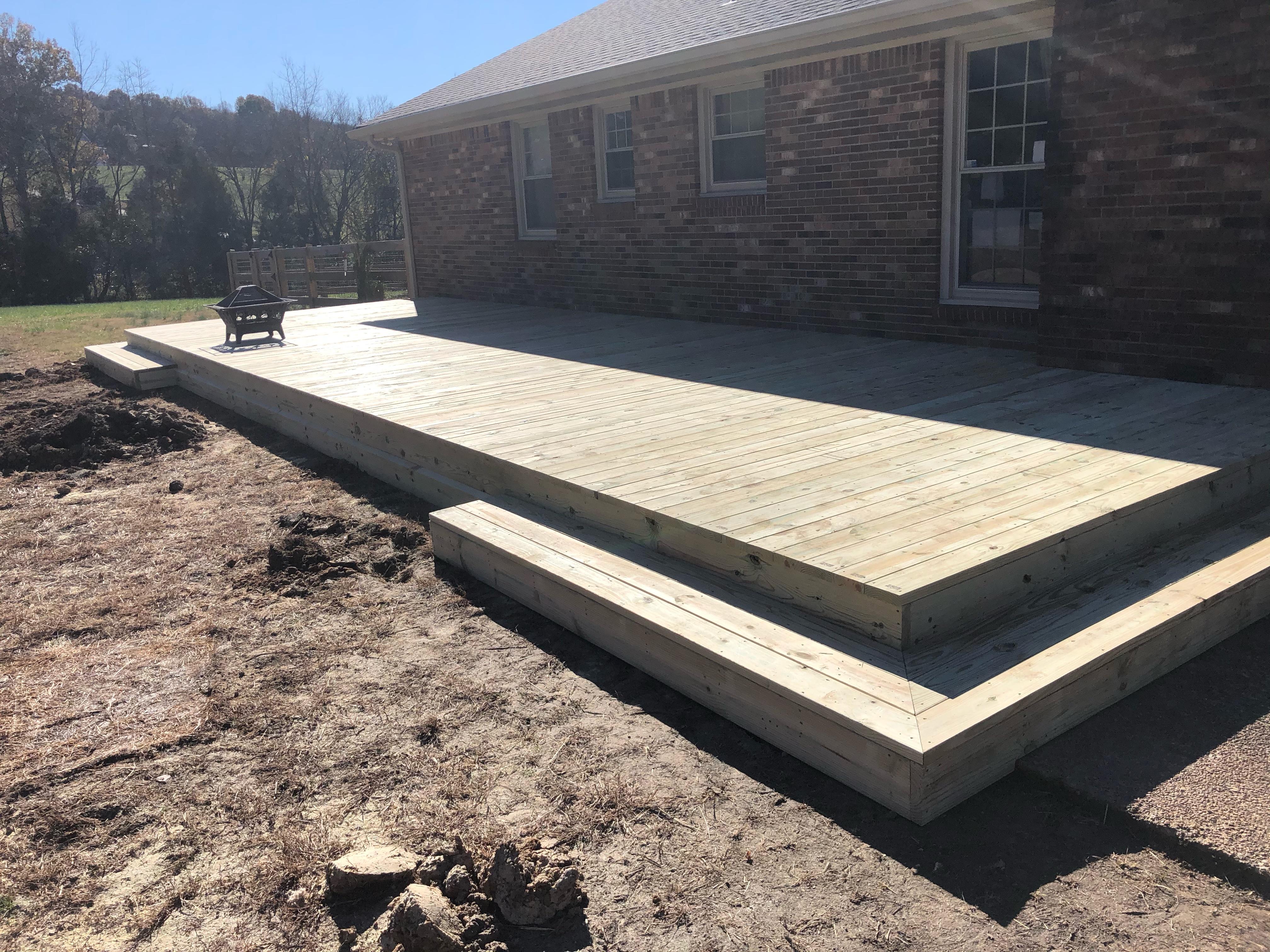 New Platform Deck