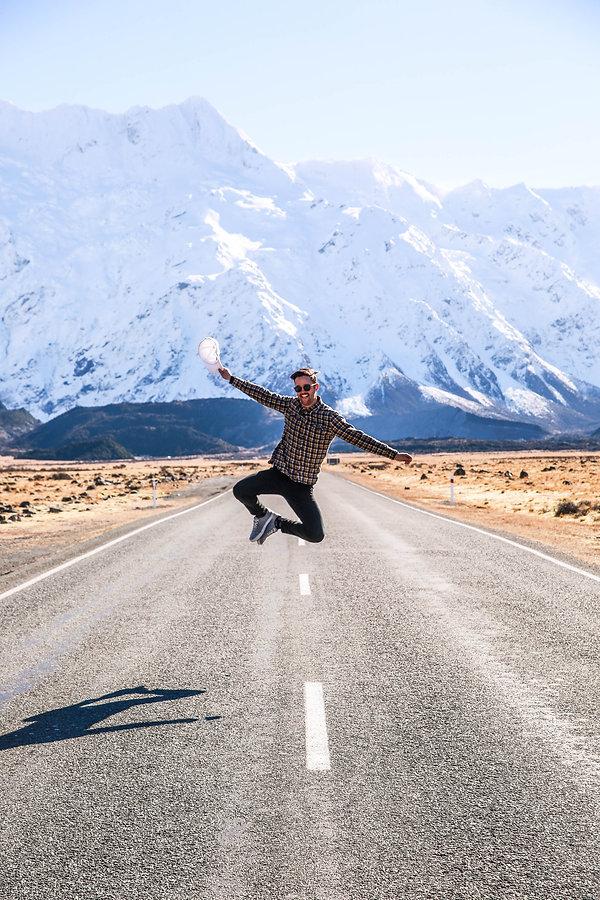 Ryan at Mt Cook