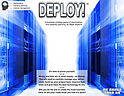 Image of the box front for Game-changing Insight's IT capacity planning game, DEPLOY!