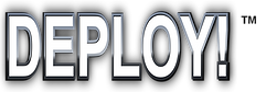 Logo for the IT infrastructure planning applied game: DEPLOY!