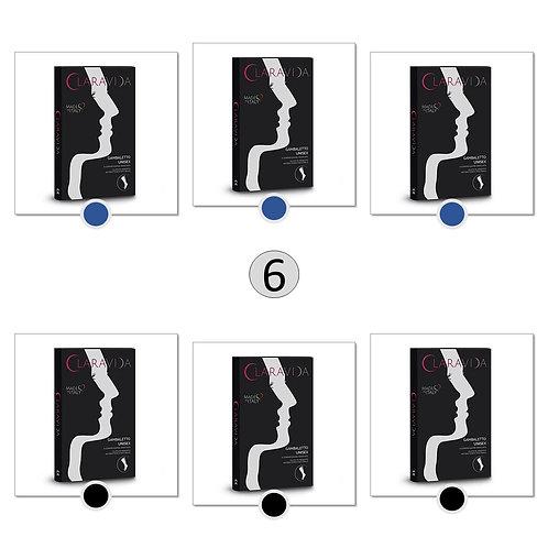 6 paia di gambaletti - Uomo