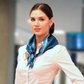 Le calze delle assistenti di volo?