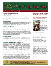 Pony Express Newsletter