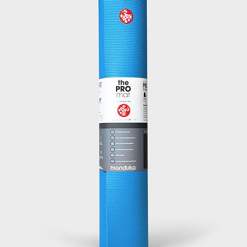 "MANDUKA - BLACK MAT PRO® 6MM (LIMITED EDITION) - DRESDEN BLUE 71"""