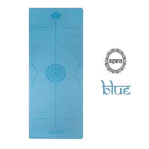 ASANA YOGA MAT 5MM : BLUE