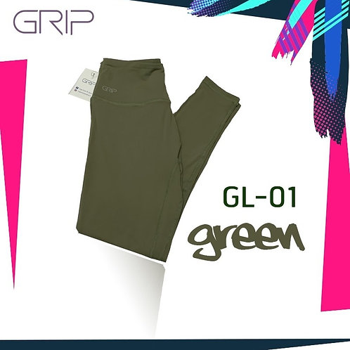 GRIP ACTIVEWEAR : LEGGING GL01 - GREEN