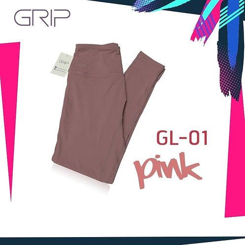 GRIP ACTIVEWEAR : LEGGING GL01 - PINK