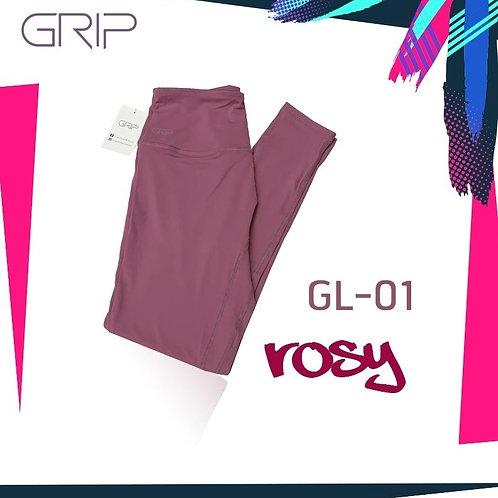 GRIP ACTIVEWEAR : LEGGING GL01 - ROSY