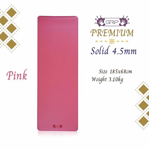 GRIP - PREMIUM SOLID MAT 4.5MM : PINK