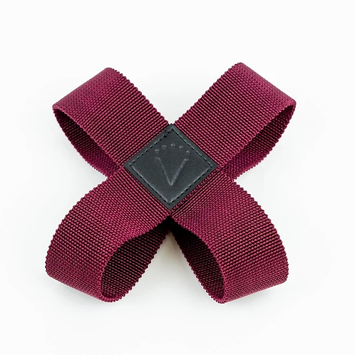 VAKEN : THERAPY STRAP : PLUM RED (M)