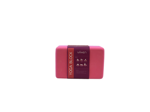 VAKEN : RECYCLED FOAM YOGA BLOCK - PING BLOOMING