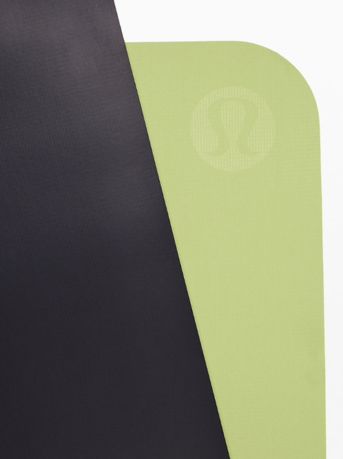 LULULEMON - THE REVERSIBLE MAT 5MM : TRUE NAVY / LEMON VIBE