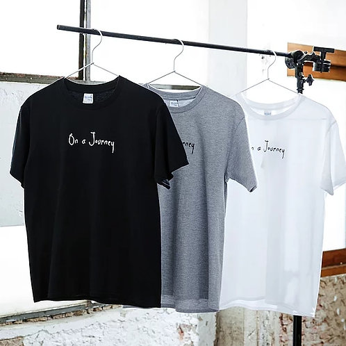 "YOGISM - SHORT SLEEVE T-SHIRT  : ""On a Journey"""