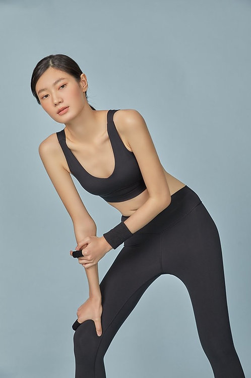 GLOW ACTIVEWEAR : EMILY LEGGING IN BLACK