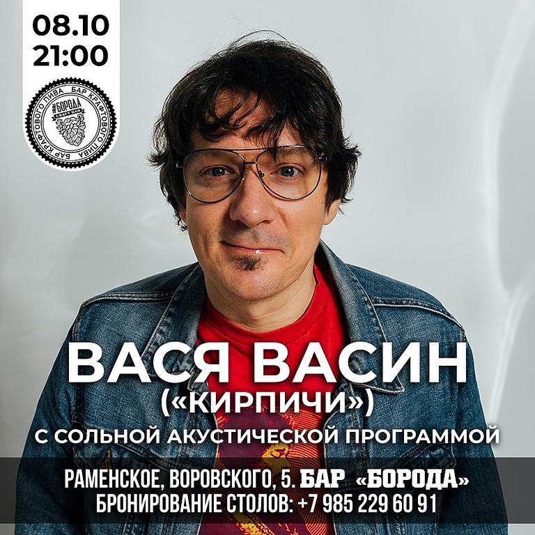 "Вася Васин, группа ""Кирпичи""."