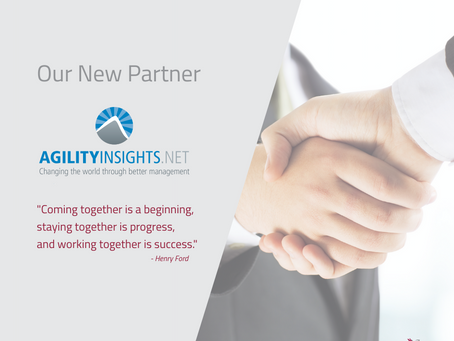 NOW IN PARTNERSHIP WITH AGILITYINSIGHTS