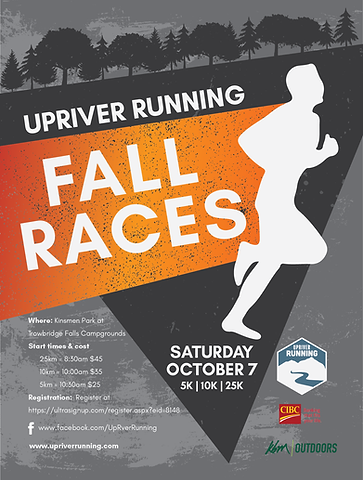 UpRiver Running Fall Races