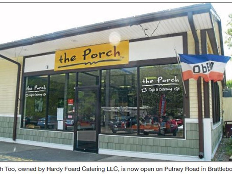 The Porch Too opens in former Putney Road sandwich shop