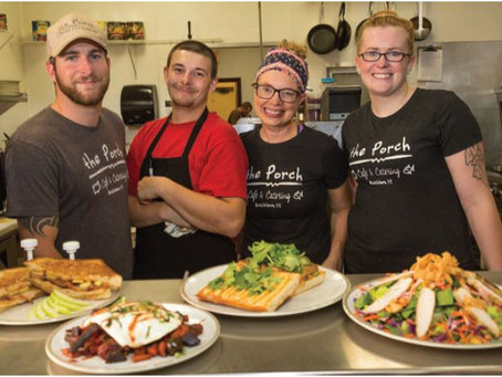 Local, From Scratch Fare in Brattleboro