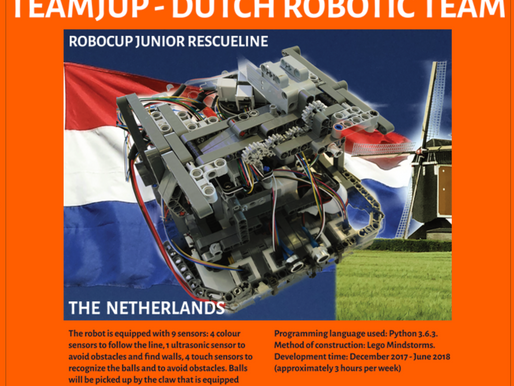 Sponsoring Dutch Robotic Team