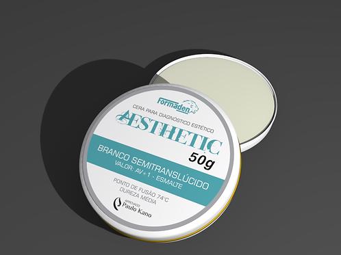 Cera Aesthetic Branco Semitranslúcido 50g