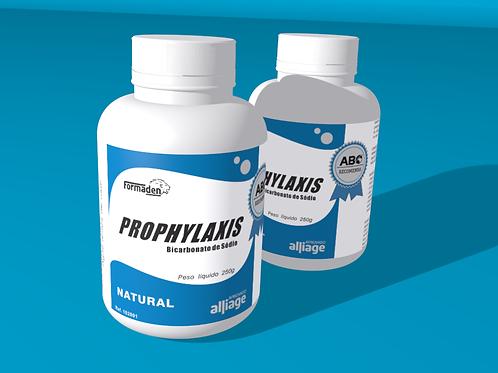 12 un. Prophylaxis - Bicarbonato de Sódio Natural  caixa com 12 frascos de250g