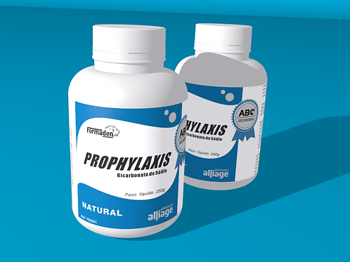 12 pcs. Prophylaxis - Natural Sodium Bicarbonate box with 12 250g bottles