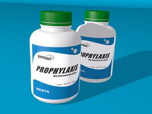 12 un. Prophylaxis - Bicarbonato de Sódio Menta cx com 12 frascos de250g