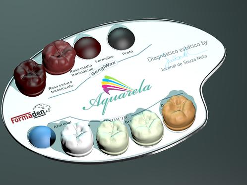 Aquarela Aesthetic/Gengiwax Edição Especial Juvenal de Souza Neto