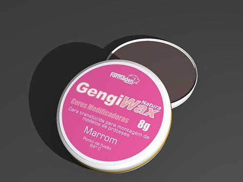 Cera Gengiwax Cores Modificadoras Marrom 8g
