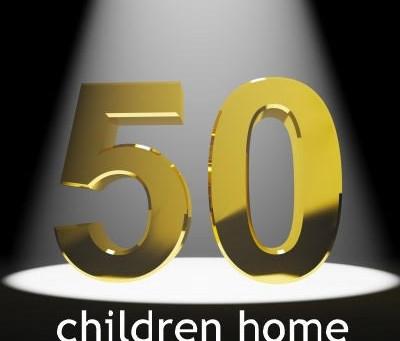 50 Children Home Through Adoption!