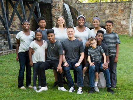 Transracial Adoption Part One - A Walking Billboard
