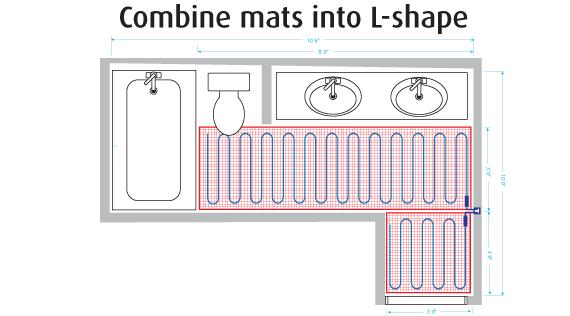 Warmup L-shape diagram