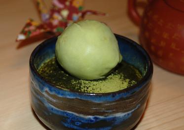 Tiramisu & glace matcha