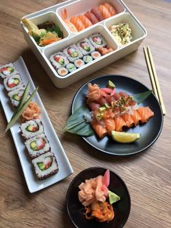 Bento sushi & sashimi