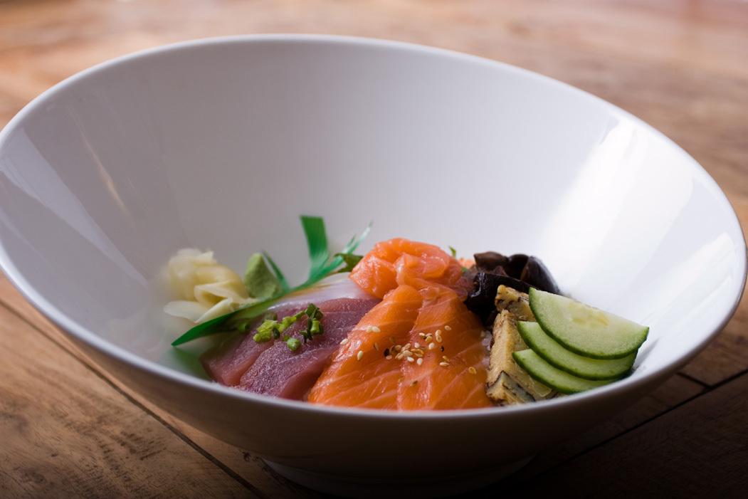 Les chirashis, sashimis et sushis