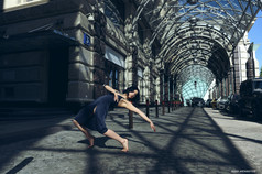 Танец на улицах города
